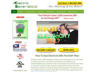 electricsaver1200.com screenshot