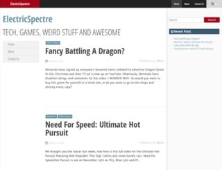 electricspectre.net screenshot