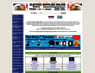 electricsuppliesonline.com screenshot