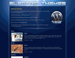 electricthemes.co.uk screenshot