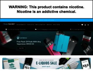 electrictobacconist.com screenshot