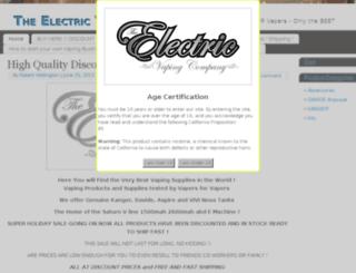 electricvapeco.com screenshot
