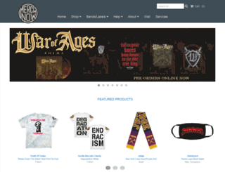 electriczombie.merchnow.com screenshot
