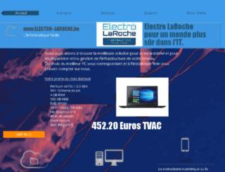 electro-laroche.be screenshot