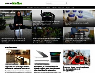 electro-marque.com screenshot