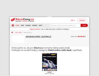 electro.akcniceny.cz screenshot