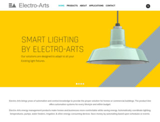 electroarts.in screenshot