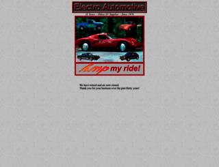 electroauto.com screenshot