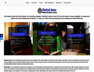 electrobot.org screenshot
