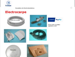 electrocarpe.kingeshop.com screenshot