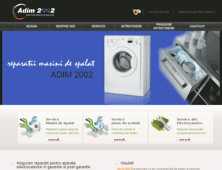 electrocasniceservice.ro screenshot