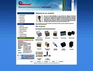 electrocom.co.in screenshot