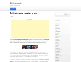 electrocutado.com screenshot