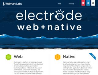 electrode.io screenshot