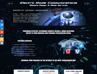 electrodiode.net screenshot