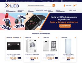electrodomesticosweb.es screenshot