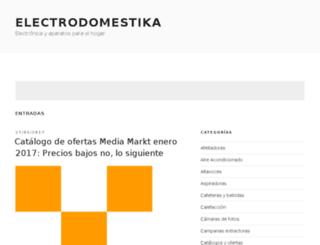 electrodomestika.com screenshot
