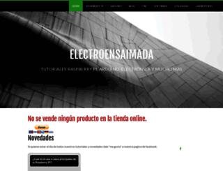 electroensaimada.com screenshot