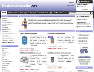 electroestimulador.net screenshot