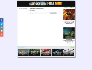 electrofresh.com screenshot