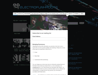 electrofunkroots.co.uk screenshot