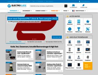 electroguide.com screenshot