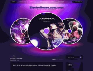 electrohouse.ucoz.com screenshot