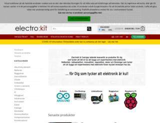 electrokit.se screenshot