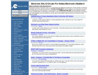 electrokits.com screenshot