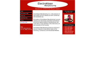 electroklean.com screenshot