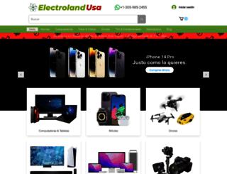 electrolandusa.com screenshot