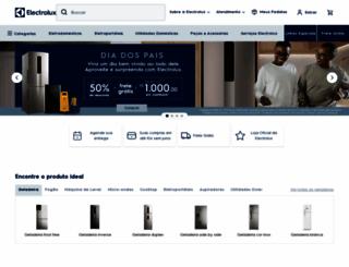 electrolux.com.br screenshot
