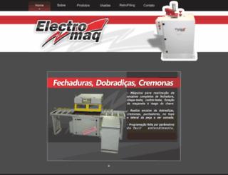 electromaq.com.br screenshot