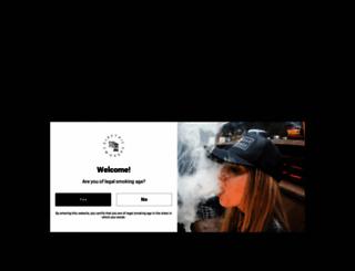 electronic-cigarette.ie screenshot