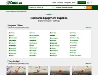 electronic-equipment-suppliers.cmac.ws screenshot