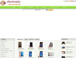 electronic-internationall.com screenshot