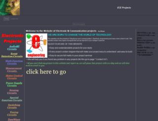 electronic-projects.50webs.com screenshot
