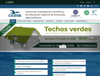 electronica.cicese.mx screenshot