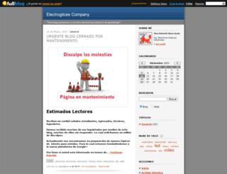 electronica.fullblog.com.ar screenshot