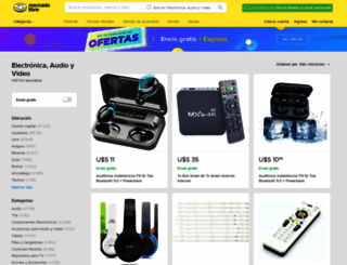 electronica.mercadolibre.com.ve screenshot