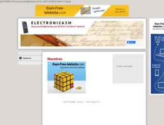electronica3m.es.tl screenshot