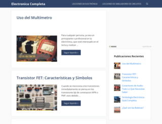 electronicacompleta.com screenshot