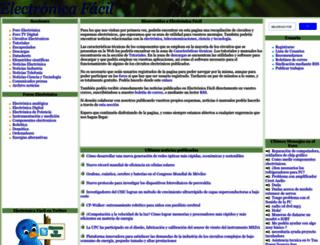 electronicafacil.net screenshot