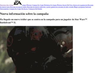 electronicarts.es screenshot