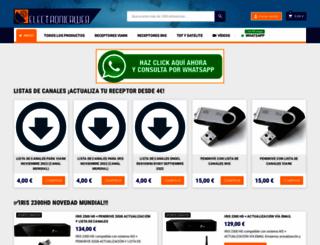 electronicaweb.com screenshot