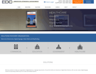electronicbuildingdirectory.com screenshot