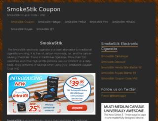 electroniccigarette.ipst.com screenshot
