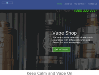 electroniccigarettesweatherford.com screenshot