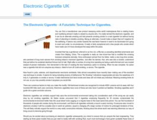 electroniccigaretteukblog.weebly.com screenshot