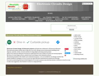 electroniccircuitsdesign.com screenshot
